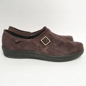 Keds • Women's Aisley Brown Suede Slip on Size 7.5
